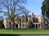 Bletchley Park - Winter - Park Inn, Bedford