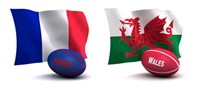 6 Nations - France v Wales - Paris 4 Days