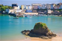 Tenby or Saundersfoot Day Trip